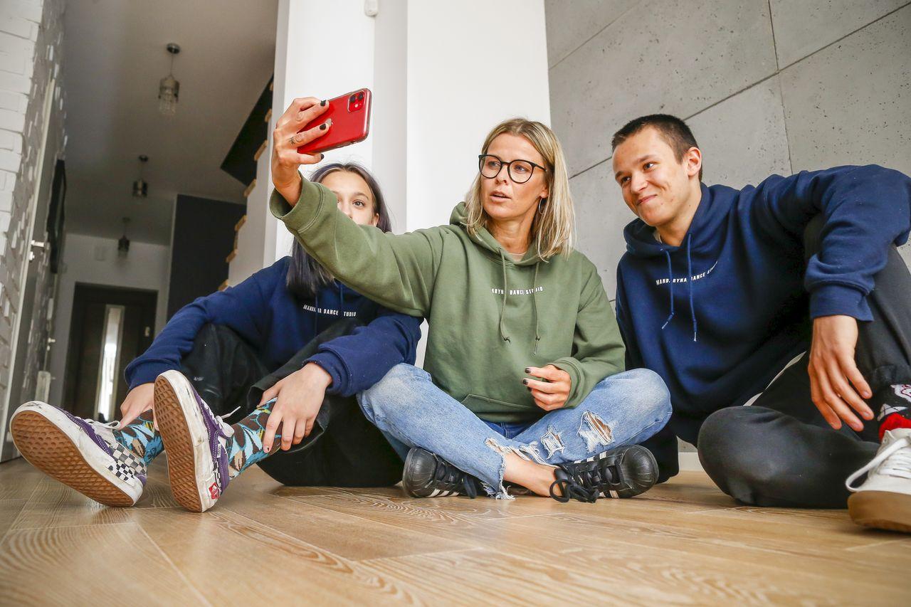 Marta Wiśniewska z dziećmi ogarnia biznes na kwarantannie