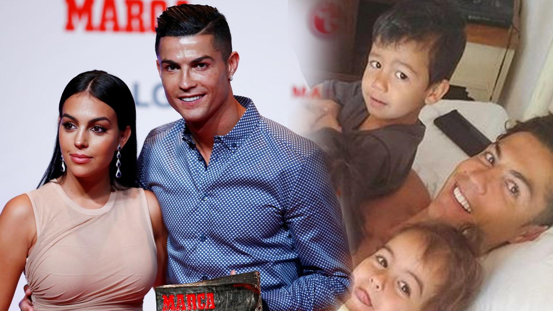 Cristiano Ronaldo pokazał zdjęcia z dziećmi, a w tle możemy zobaczyć jego luksusowy SALON