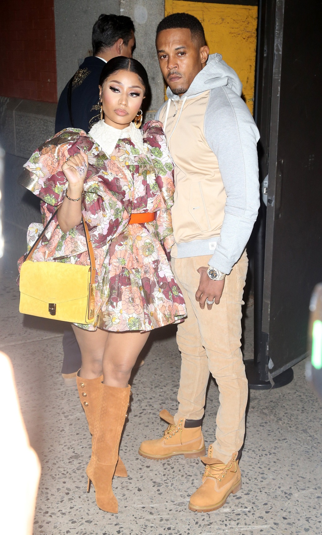 Nicki Minaj z mężem