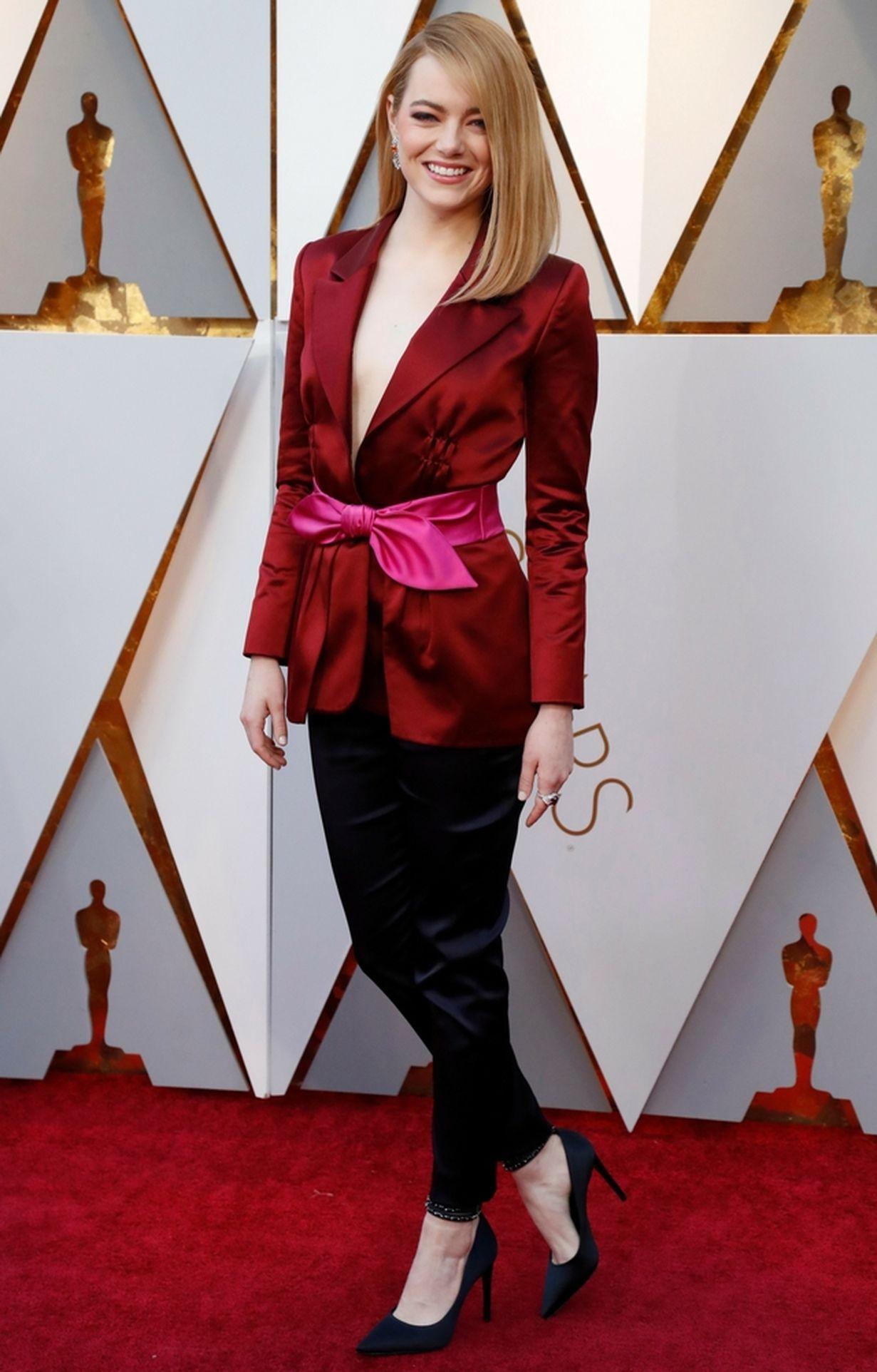 Emma Stone na ściance