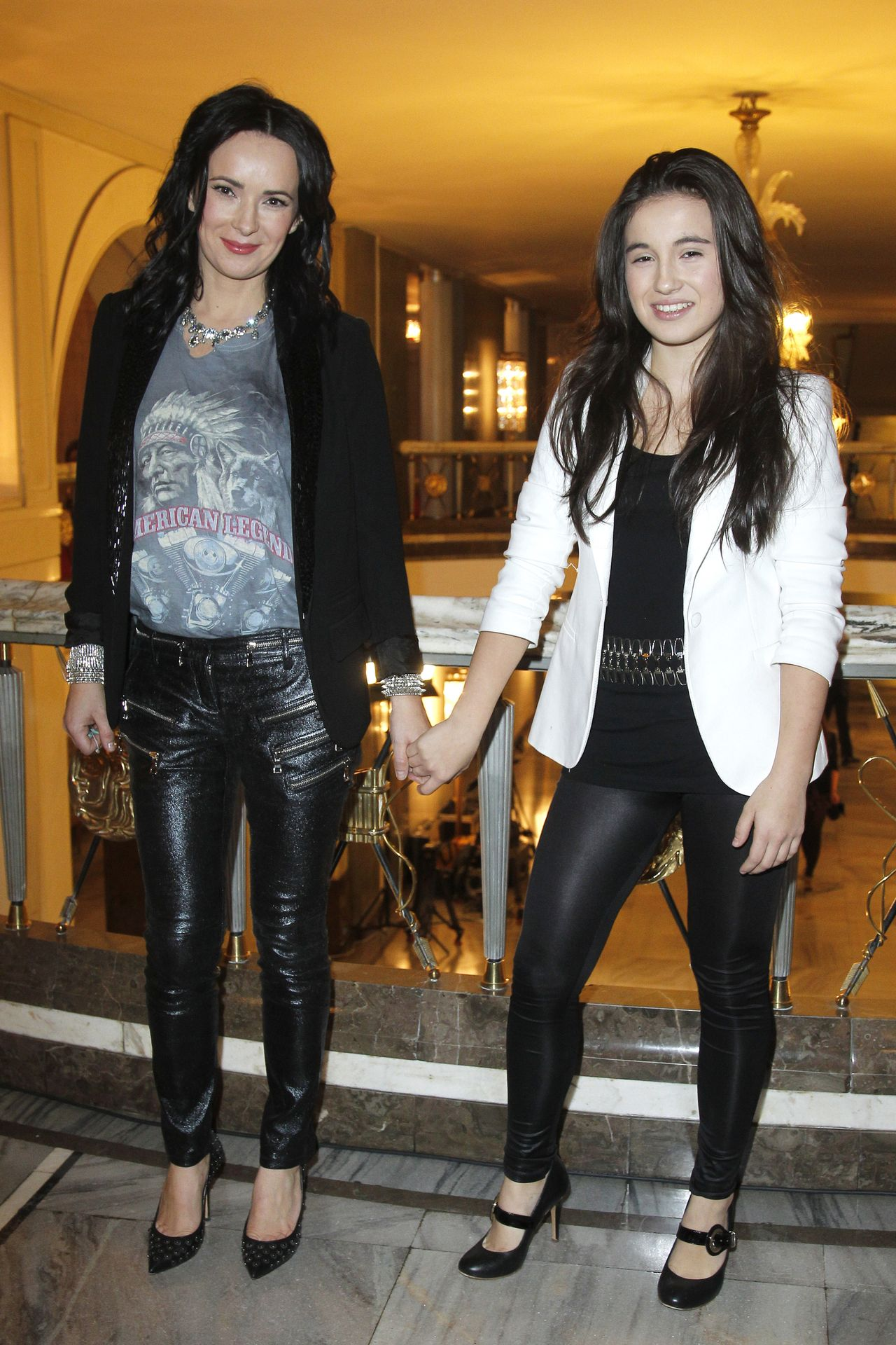 Kasia Kowalska z córką Olą.