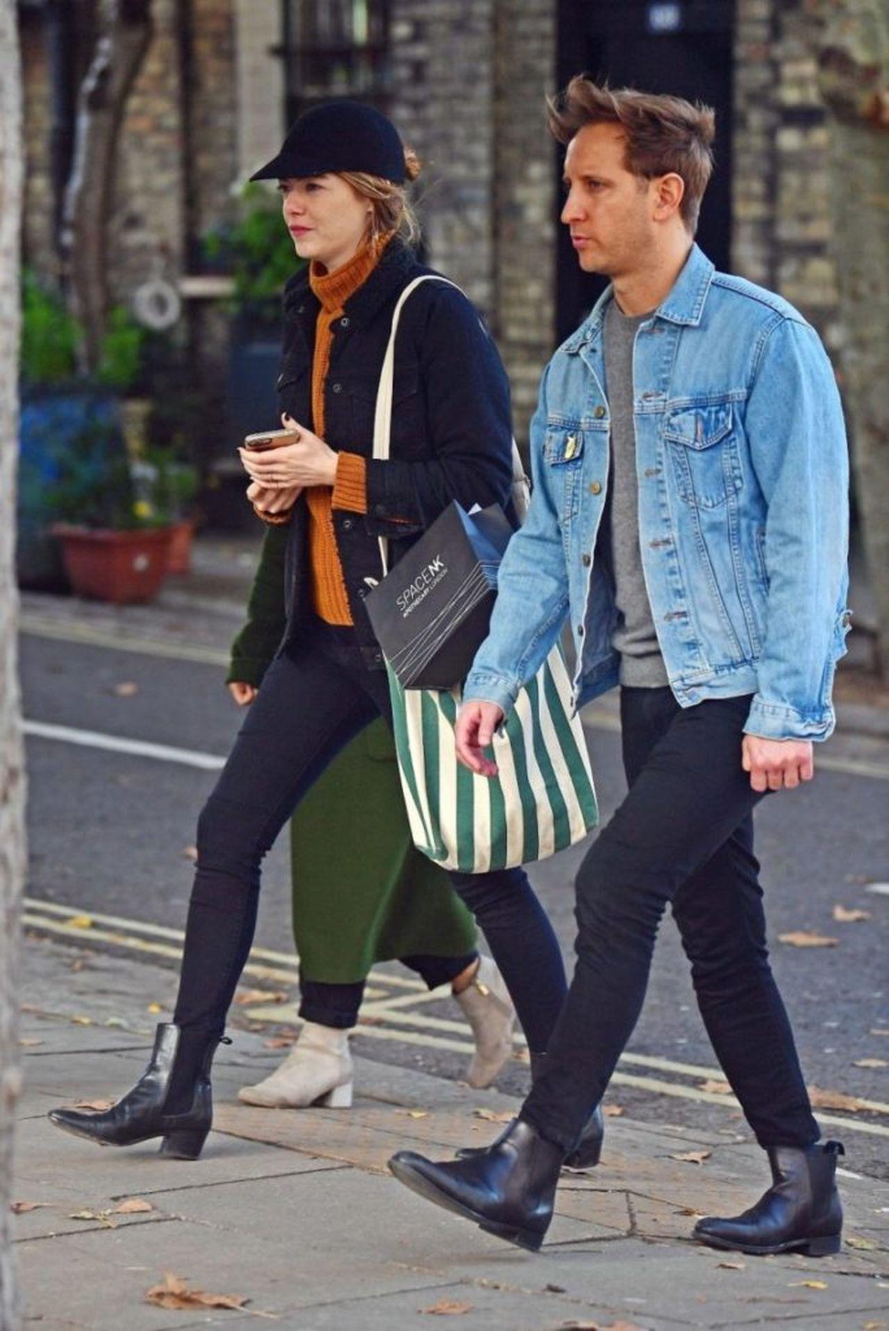 Emma Stone i Dave McCary idą z zakupami
