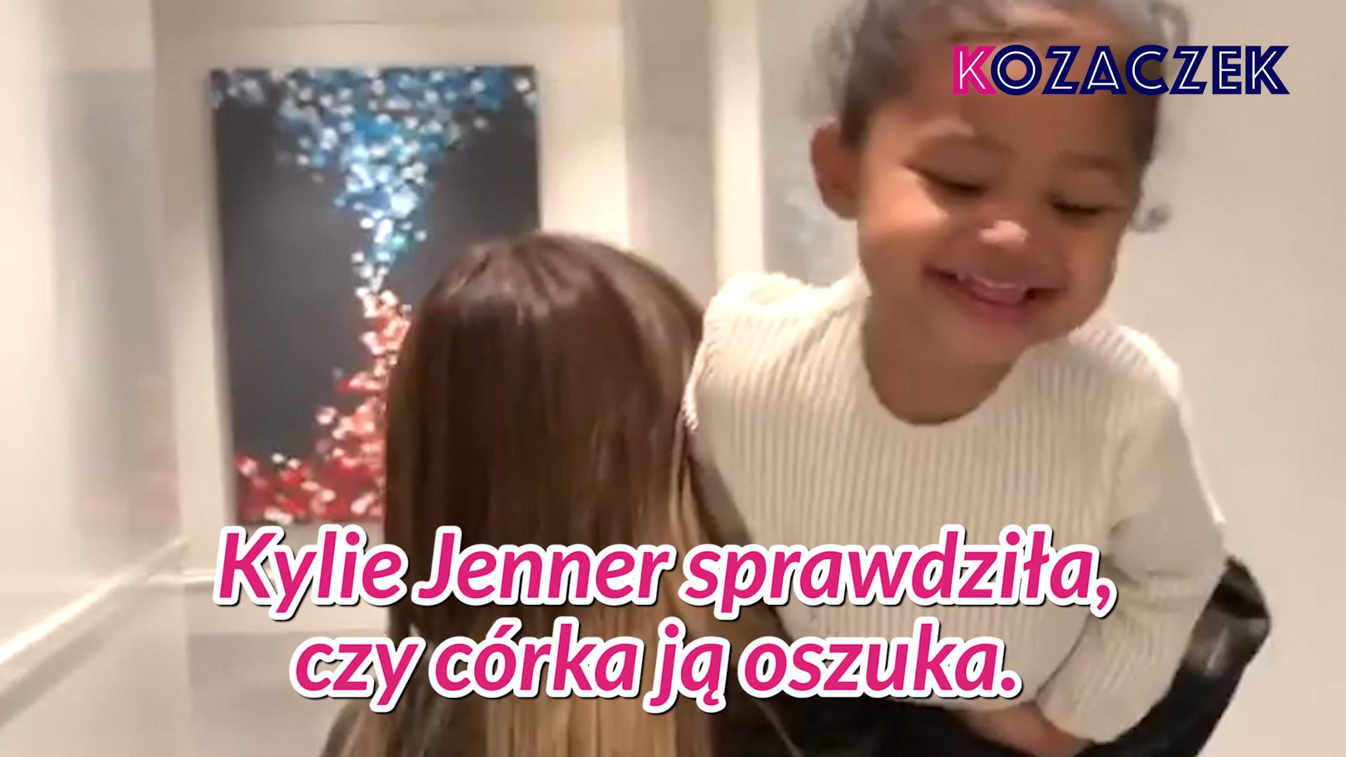 Kylie Jenner testuje cierpliwość swojej córki