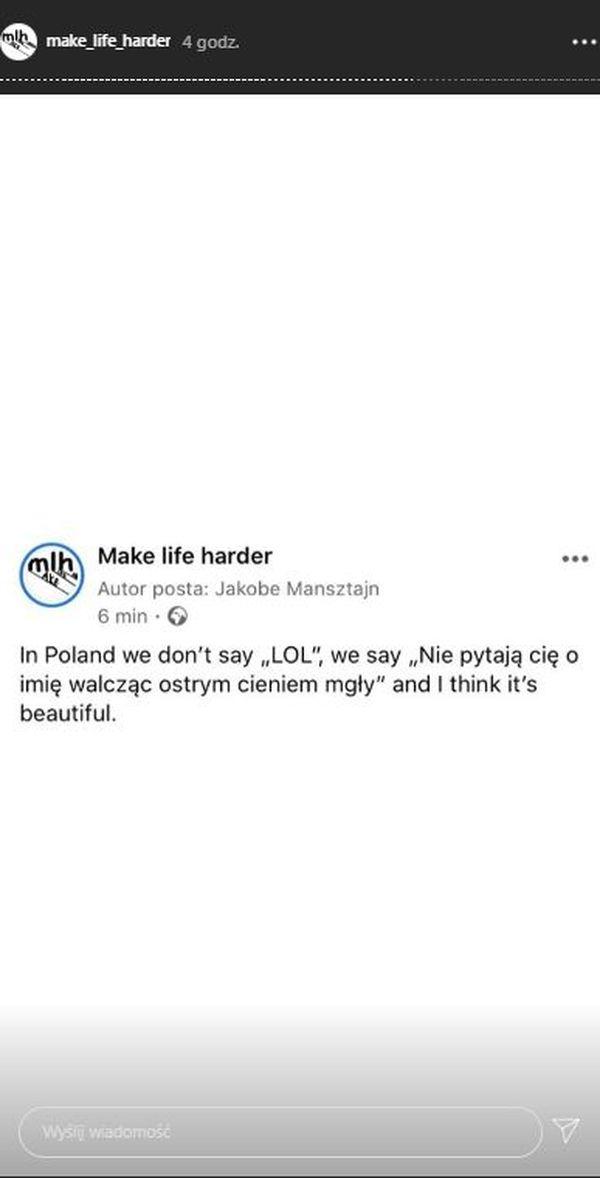 """Memy z cytatem """"Nie pytają Cię o imię, walczą z ostrym cieniem mgły"""", źródło: MakeLifeHarder"""