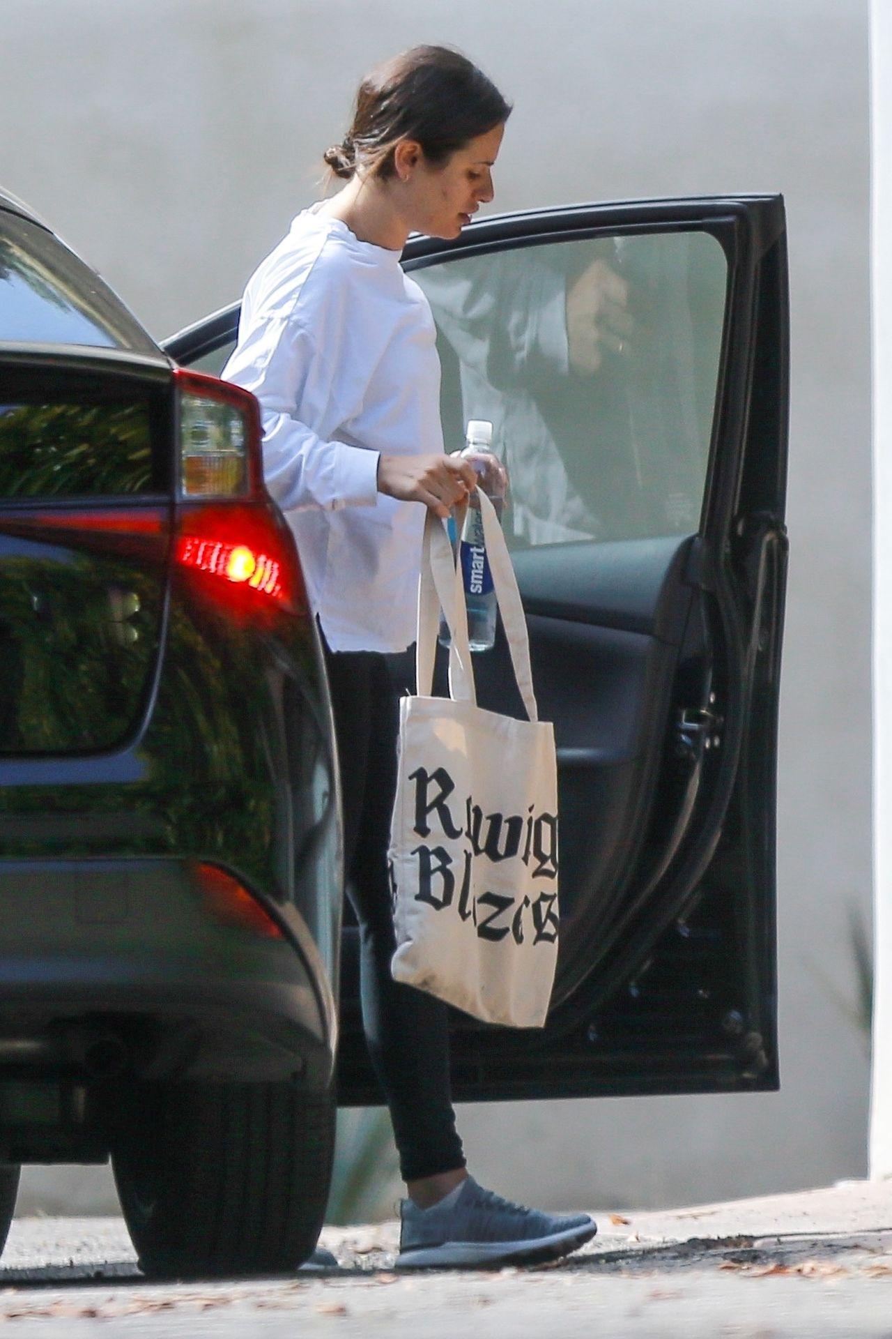 Lea Michele w ciąży wygląda na zmęczoną