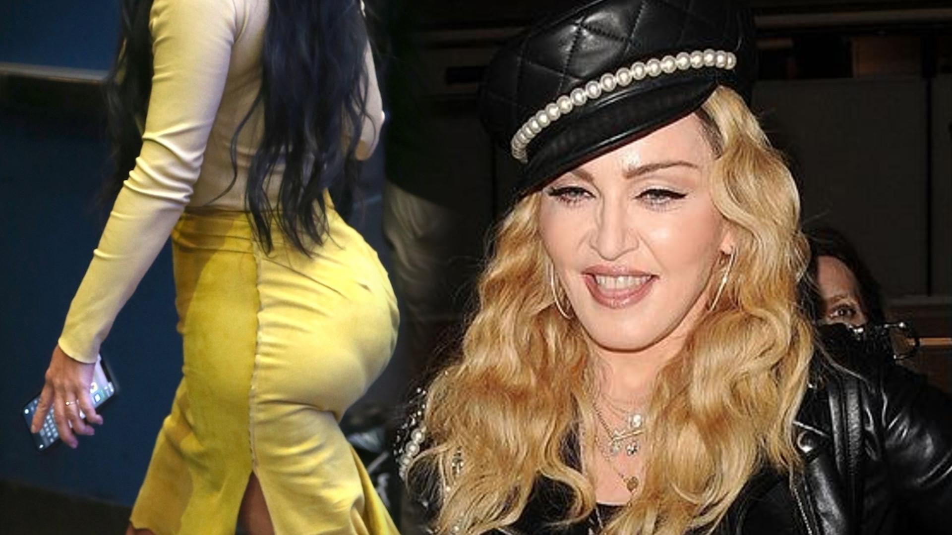 Madonna chciała być jak Kim Kardashian i powiększyła sobie PUPĘ! Spójrzcie tylko na TE zdjęcie