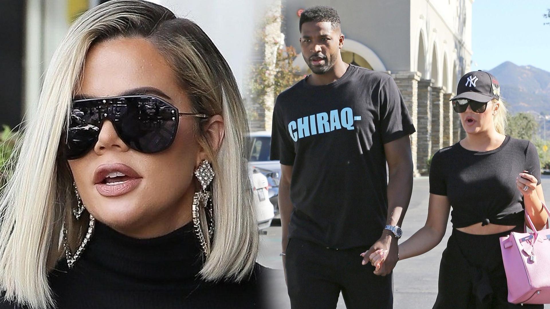 Khloe Kardashian jest w ciąży z niewiernym Tristanem? Celebrytka odpowiedziała