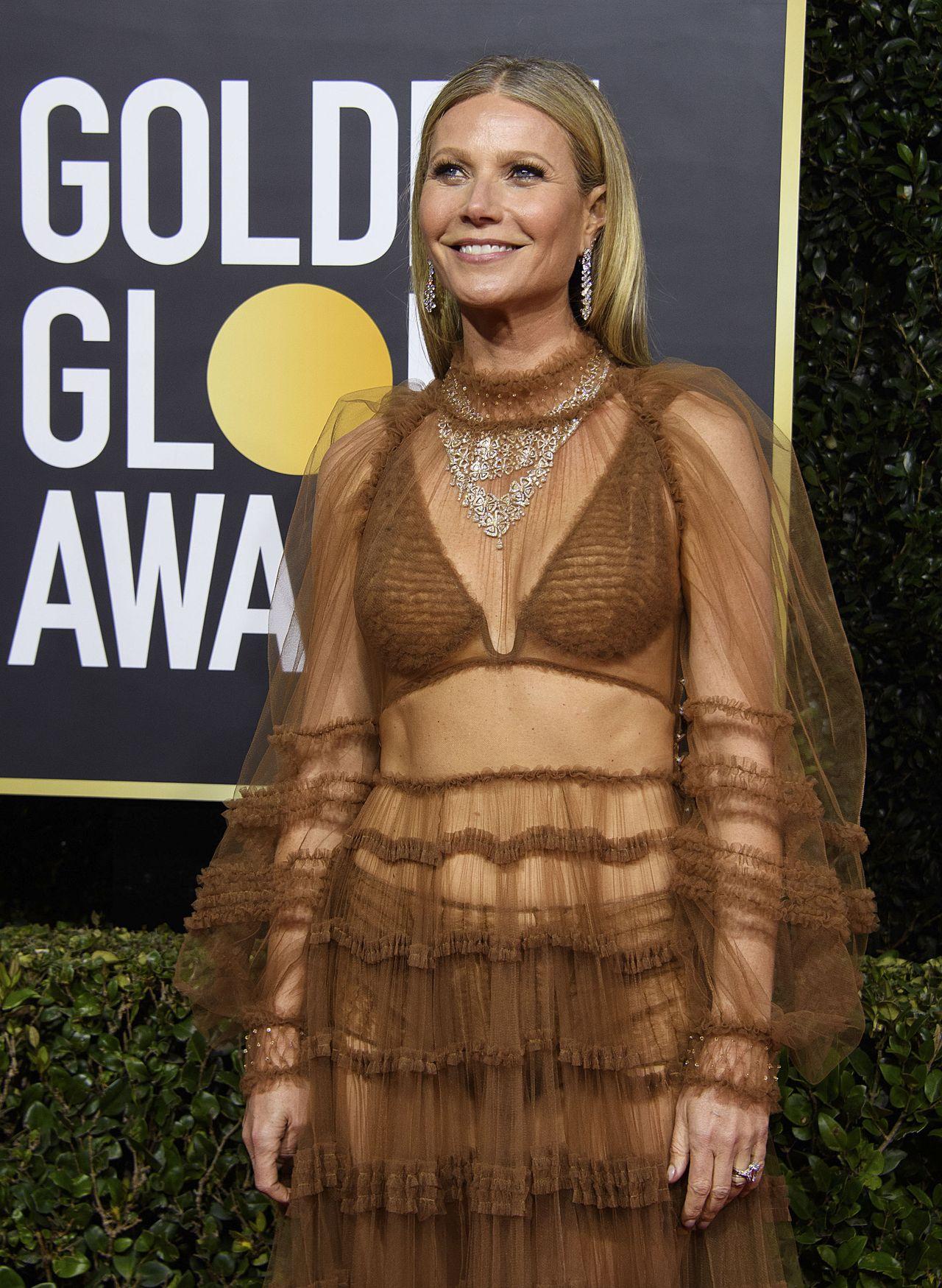 Gwyneth Paltrow na Złotych Globach