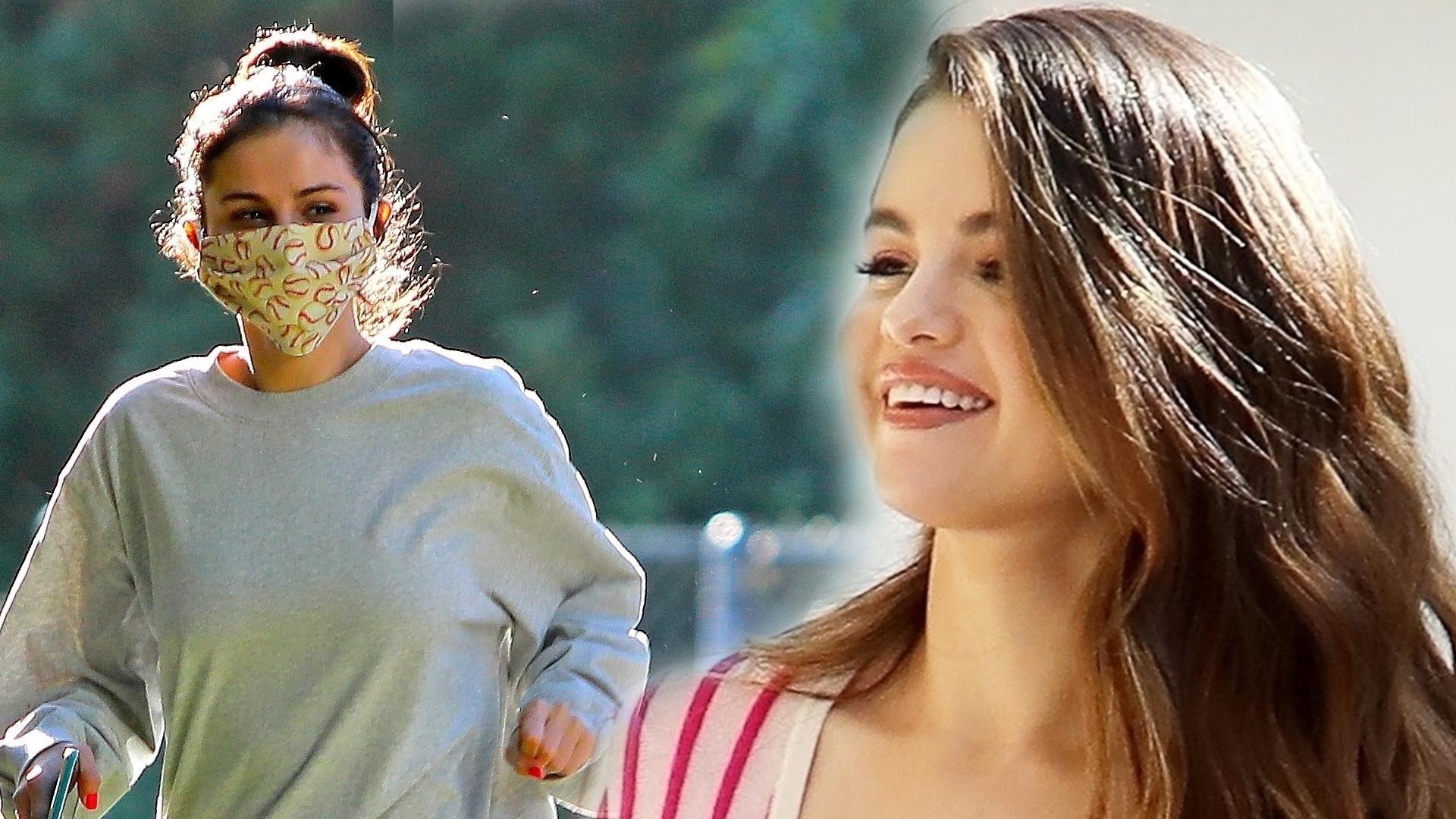 Selena Gomez w najmodniejszych spodniach tego sezonu, typu tie dye (FOTO)