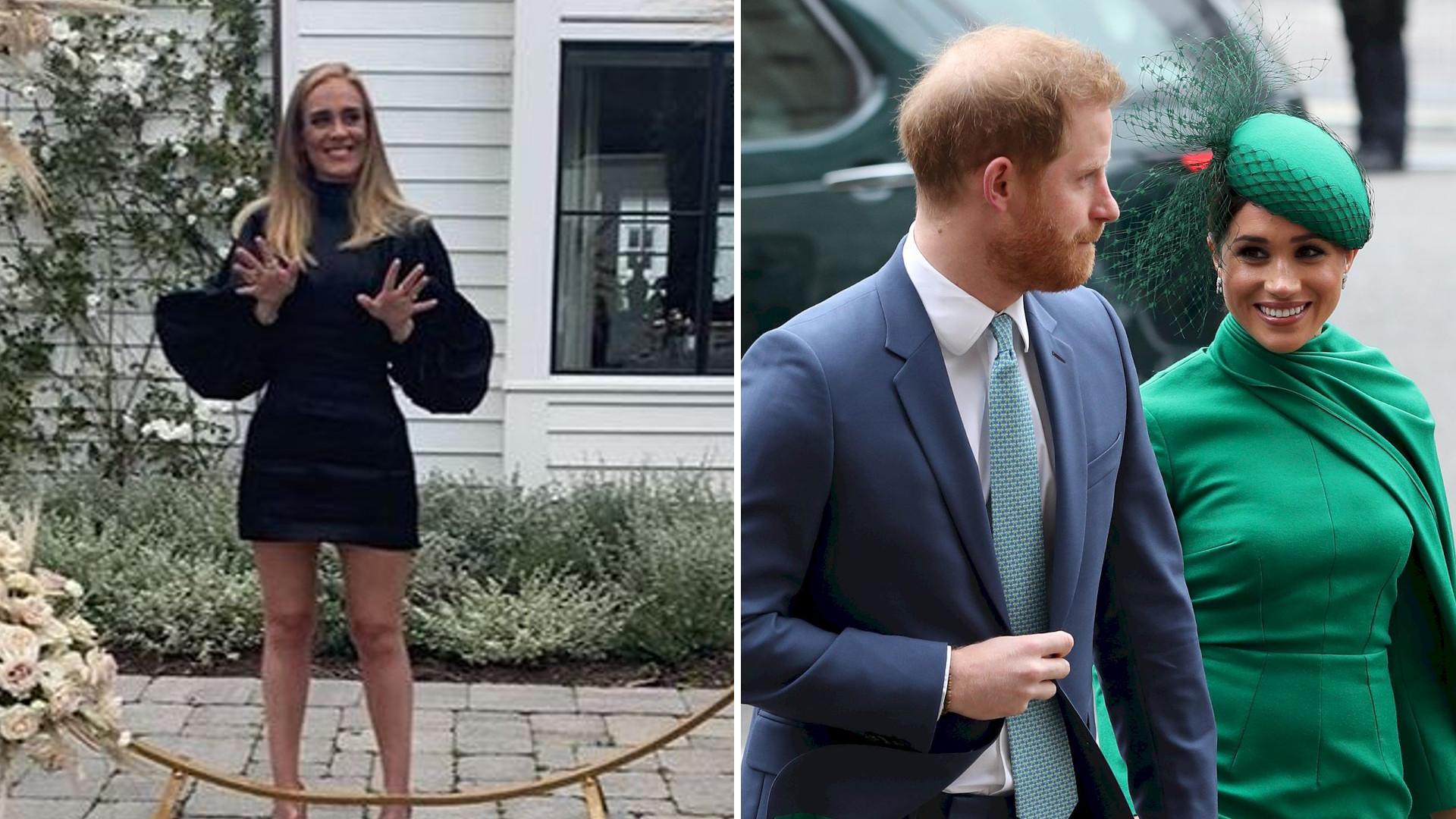 Adele poradziła TO Meghan Markle i Harry'emu