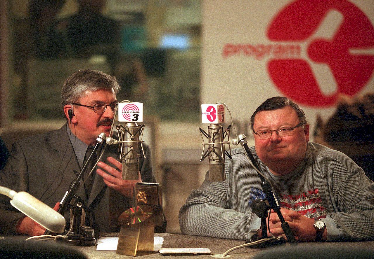 Marek Niedźwiecki i Wojciech Mannw w Trójce