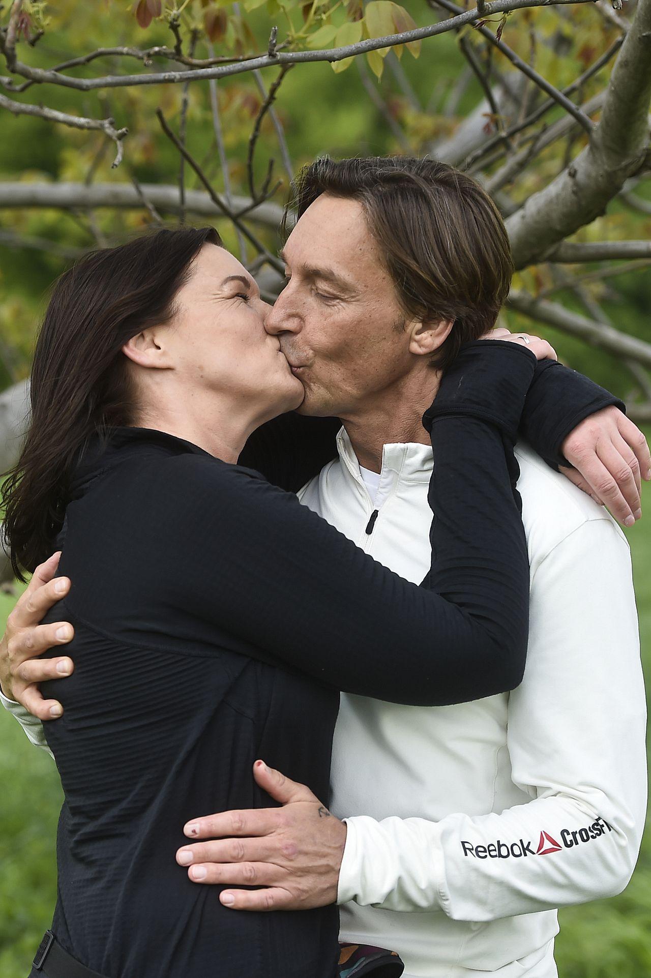 Ilona Felicjańska i Paul Montana całowali się na oczach fotoreporterów