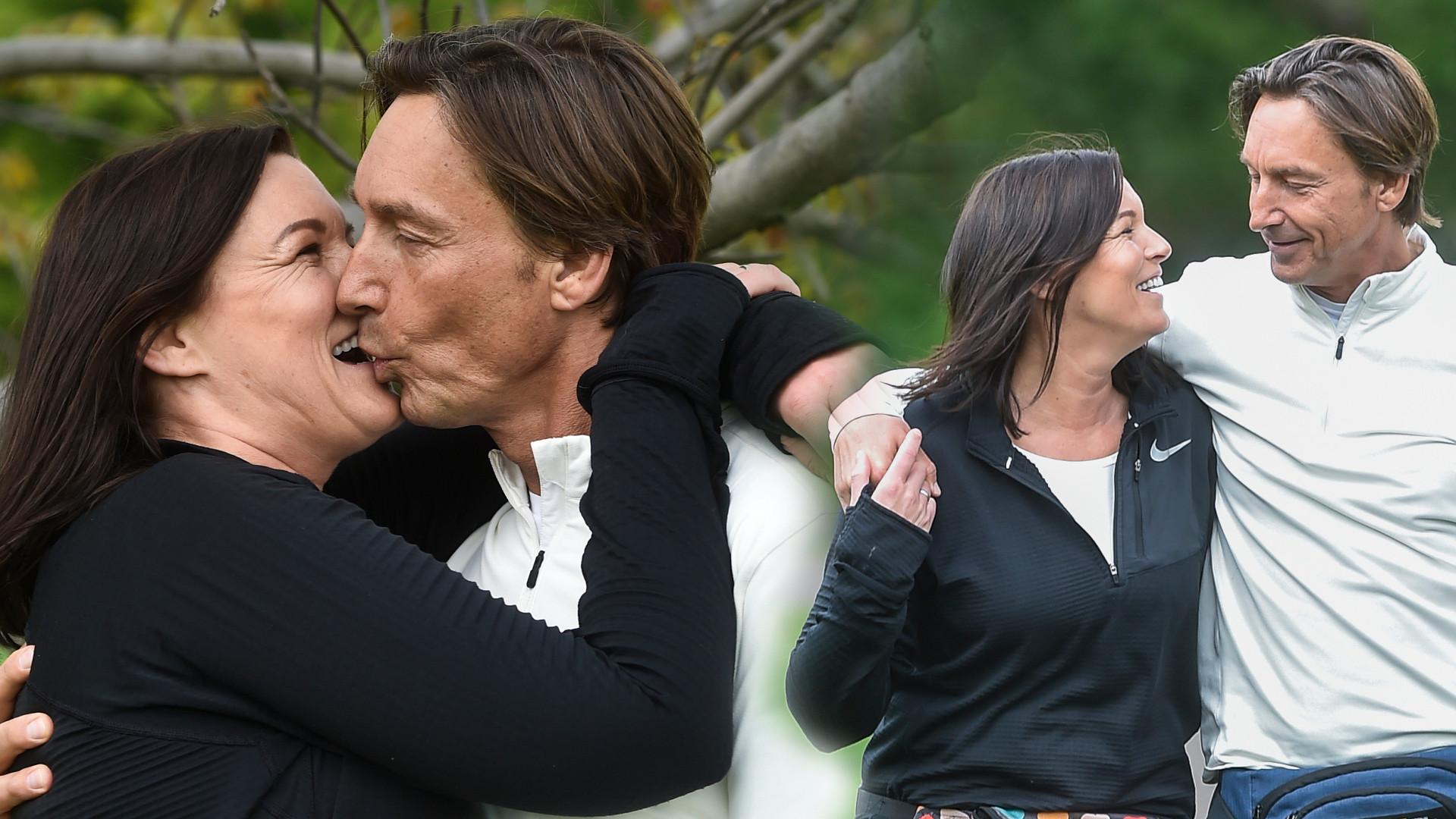 Ilona Felicjańska i Paul Montana na romantycznym treningu w plenerze (ZDJĘCIA)