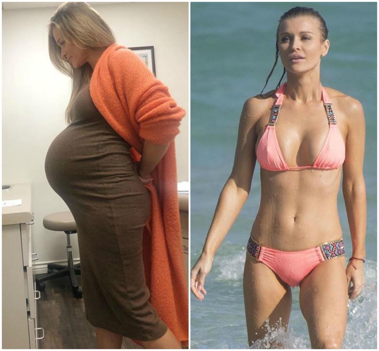 Joanna Krupa lada dzień przed porodem córki i gdy miała najlepszą formę.