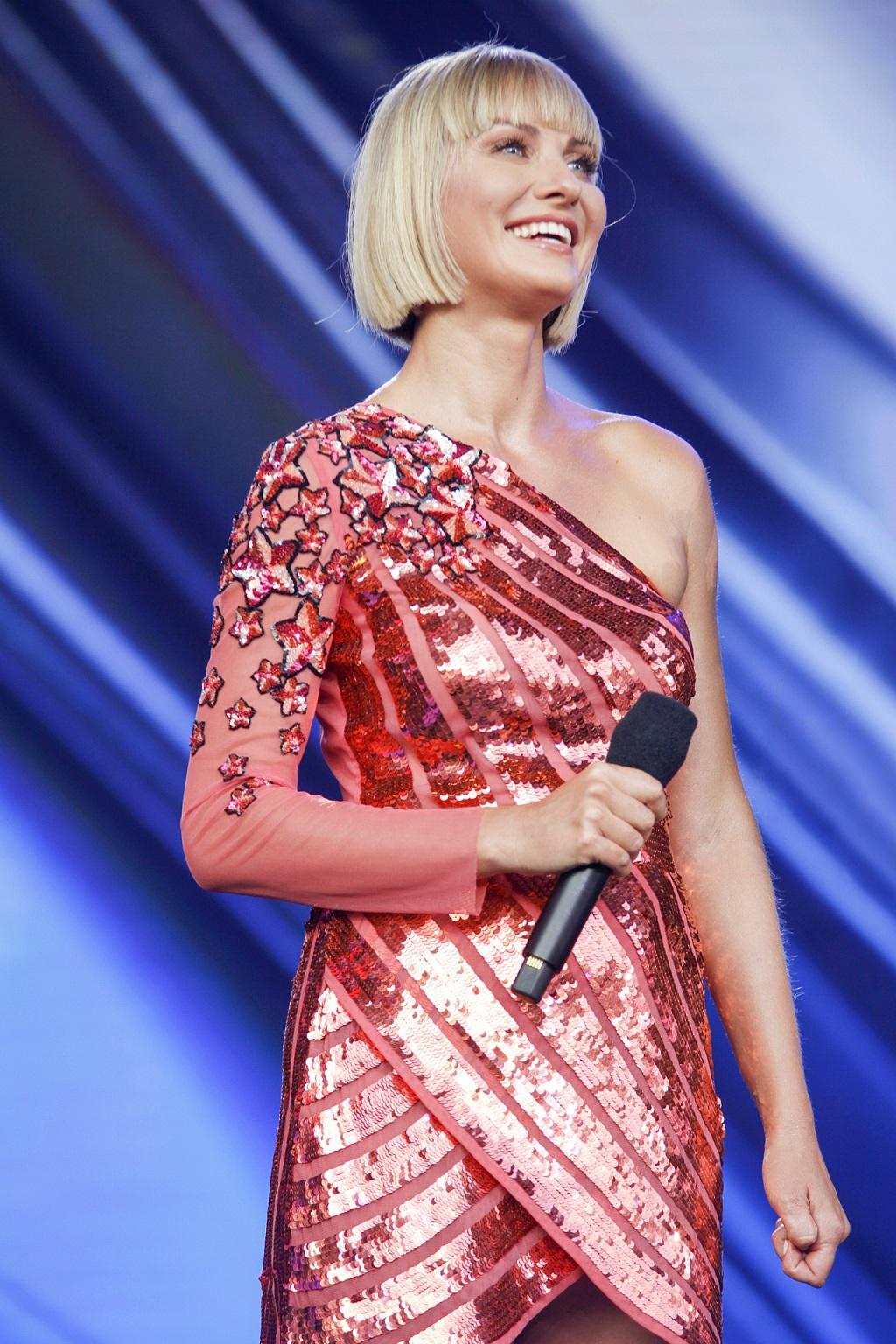 Joanna Moro w zjawiskowej kreacji na Festiwalu Talentów.