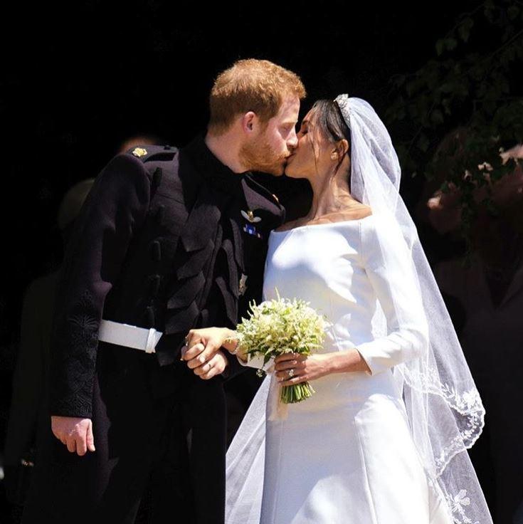 Tak wyglądał ŚLUB Meghan i Harry'ego – dzisiaj mijają 2 lata od wielkiej ceremonii (ZDJĘCIA)