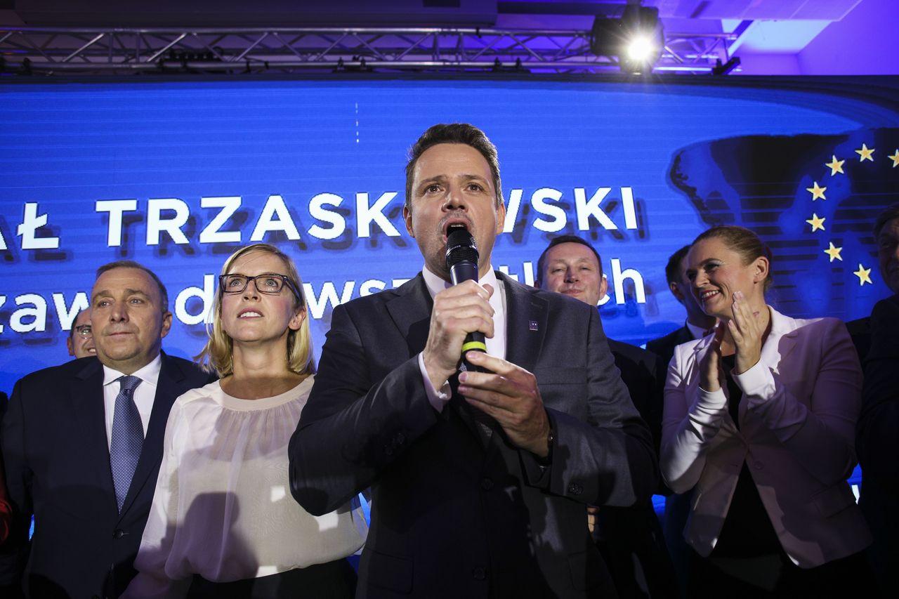 Rafał Trzaskowski z żoną, Małgorzatą