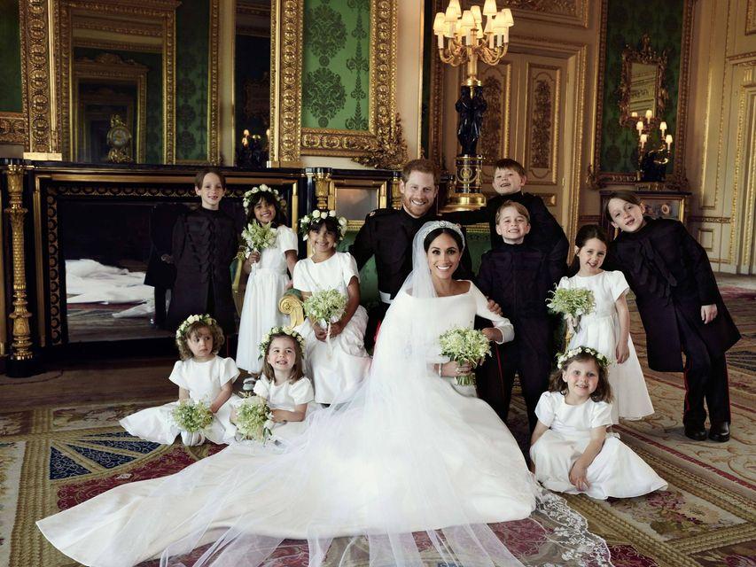 Meghan Markle i Harry na zdjęciu ze ślubnej sesji