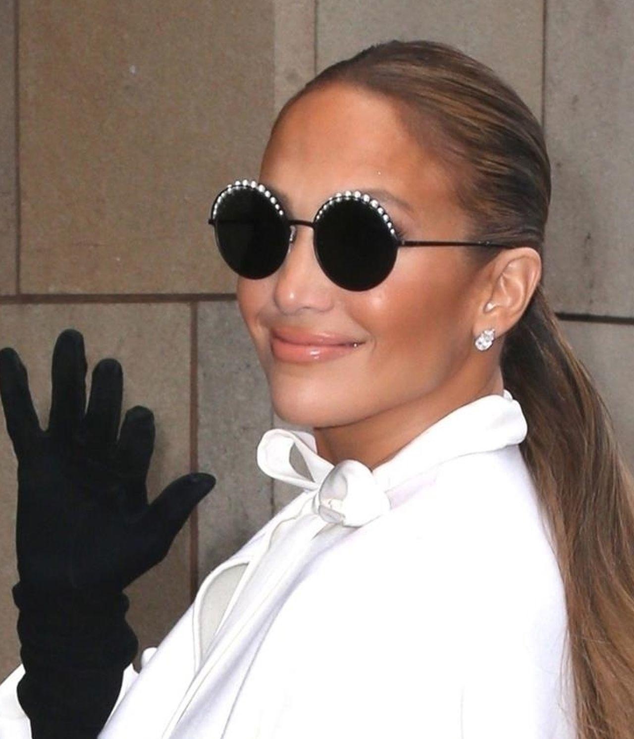 Jennifer Lopez w kucyku