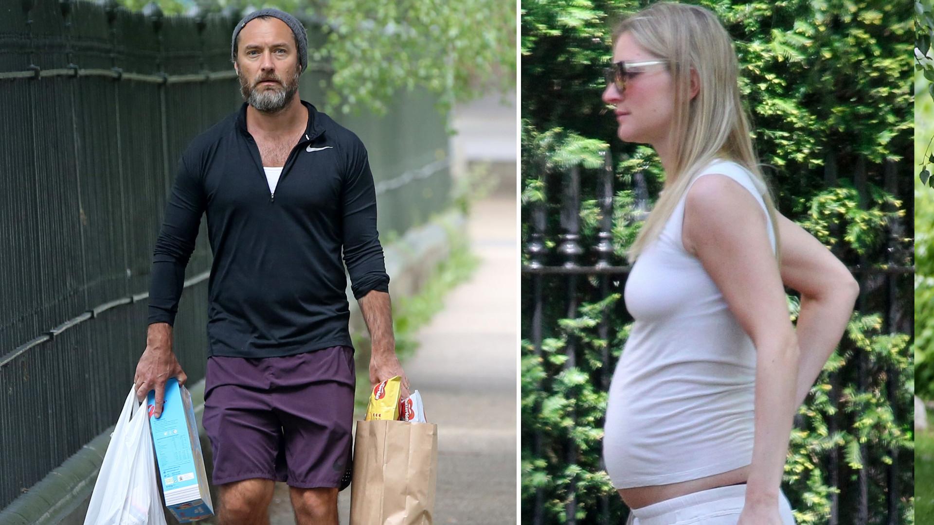 Jude Law zostanie ojcem szósty raz – żona aktora, Philippa Coan jest w ciąży (ZDJĘCIA)