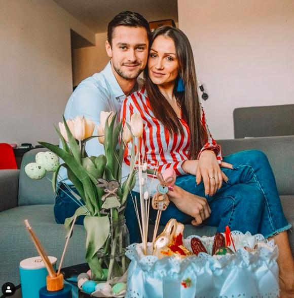 Sylwia Madeńska i Mikołaj Jędruszczak. Fot. Instagram