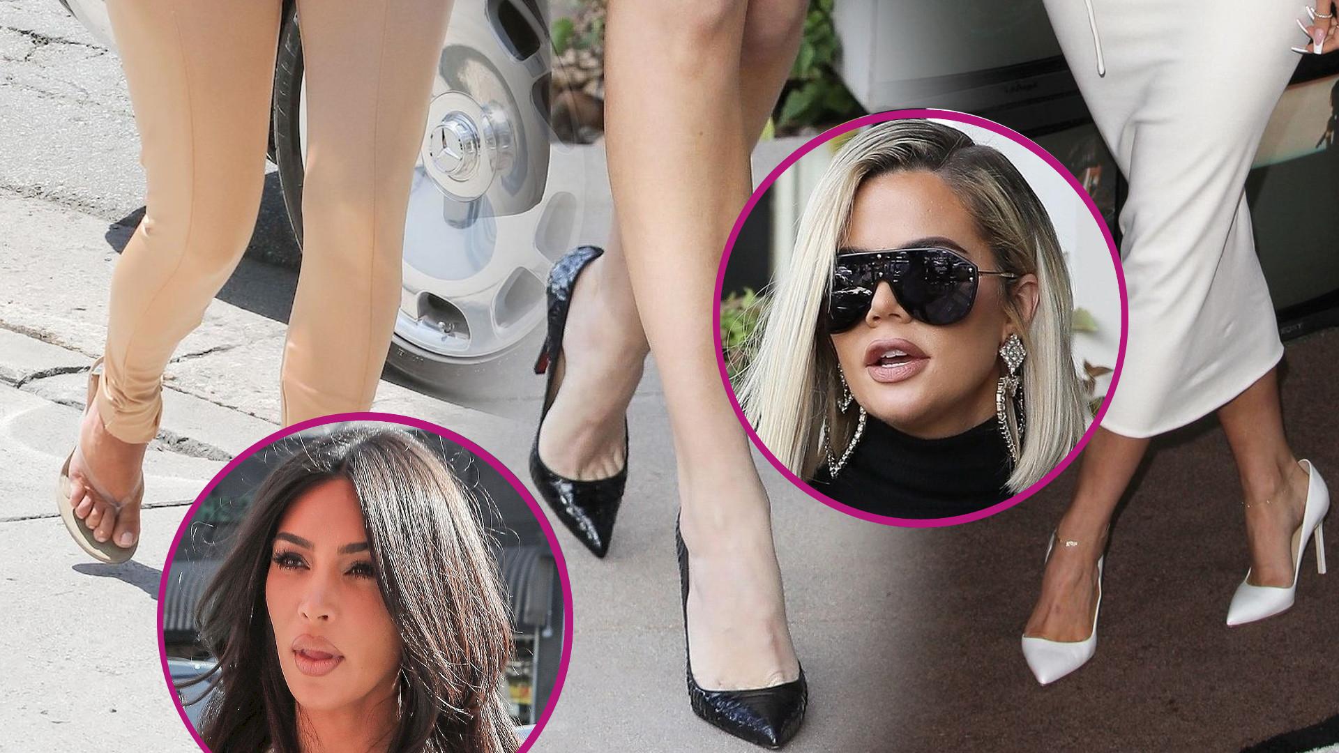 Jaki numer buta mają Kardashianki? Ona ma bardzo DUŻE stopy!