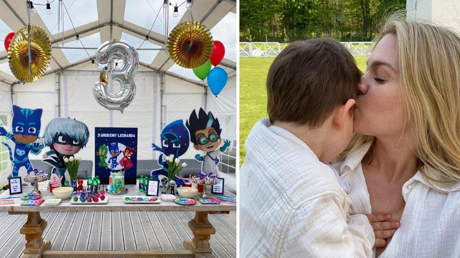 Zosia Ślotała wyprawiła swojemu synkowi wymarzone urodziny. Zadbała o wszystkie szczegóły, jak Kim Kardashian
