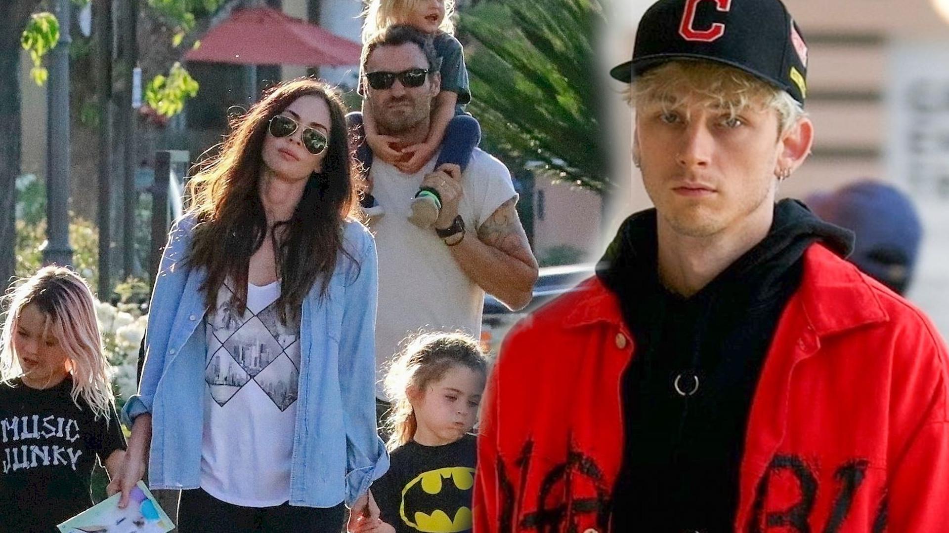 Machine Gun Kelly powodem rozstania Megan Fox i Briana Austina Greena?