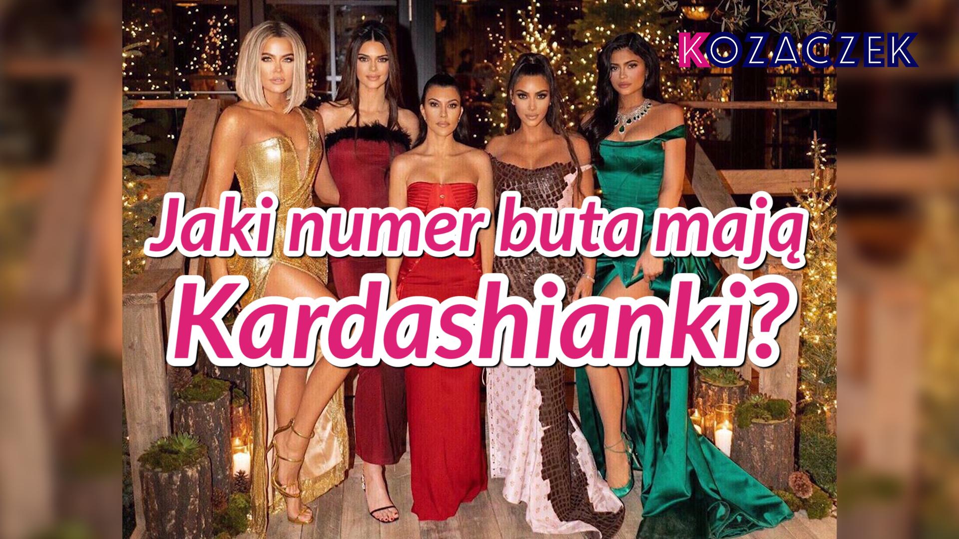 Jaki numer buta mają Kardashianki?