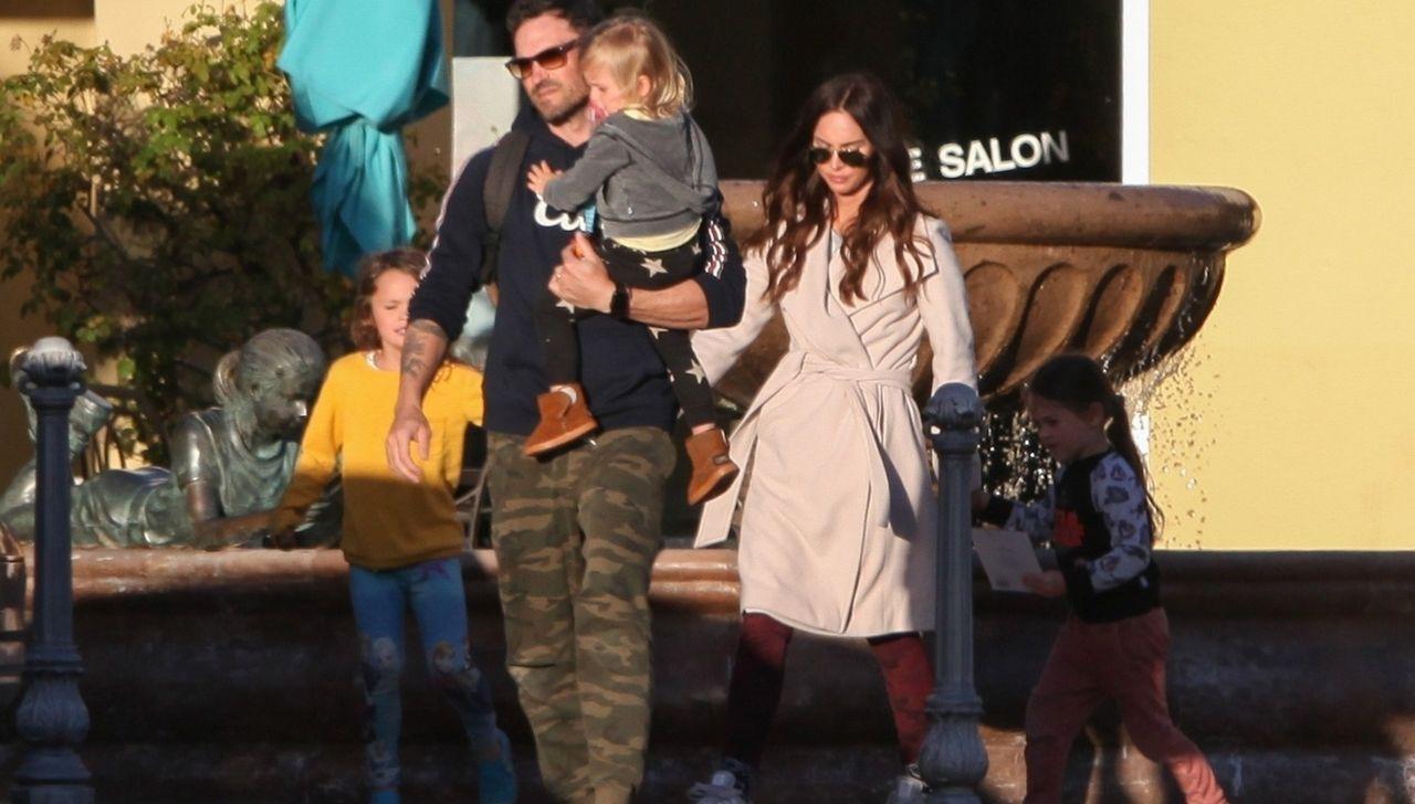 Megan Fox i Brian Austin Green z dziećmi
