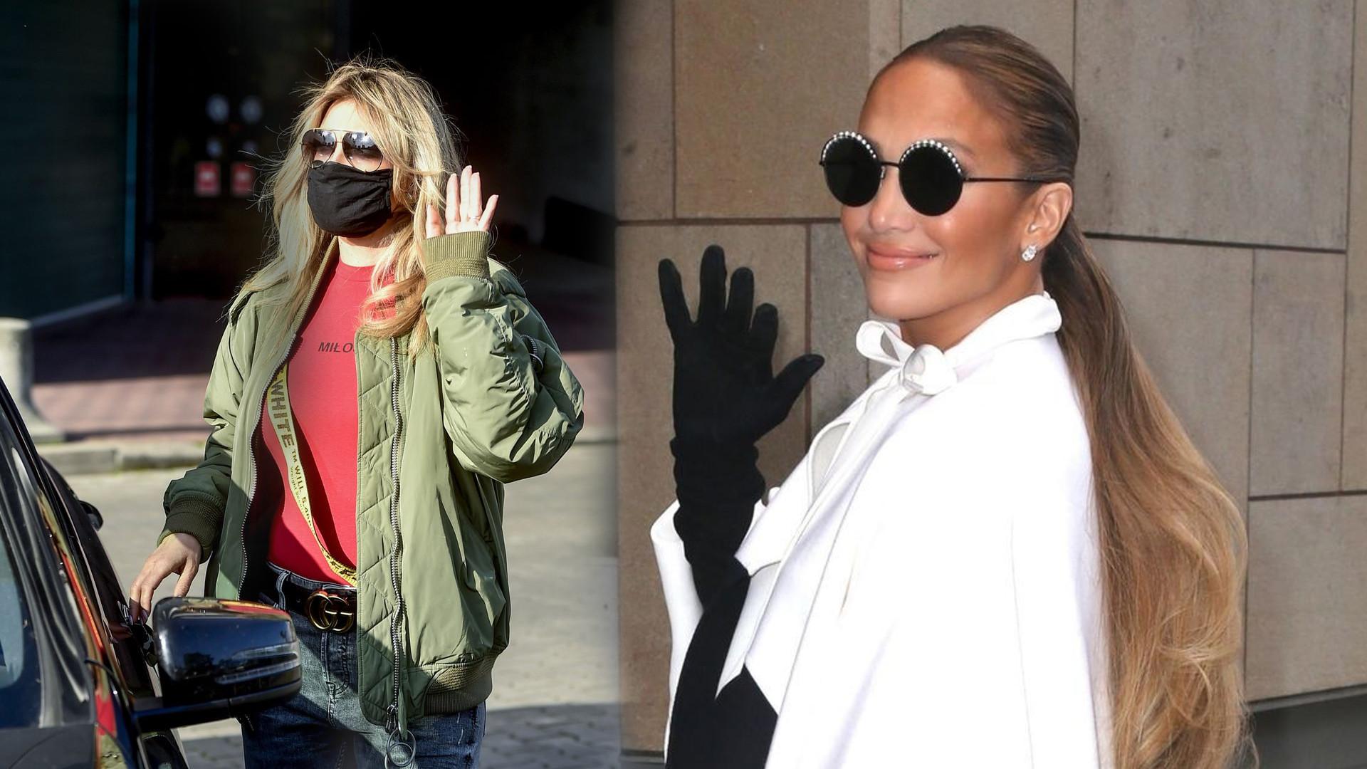 """Karolina Szostak zmieniła fryzurę i wygląda jak siostra bliźniaczka Jennifer Lopez: """"Jaki kraj taka JLo"""""""