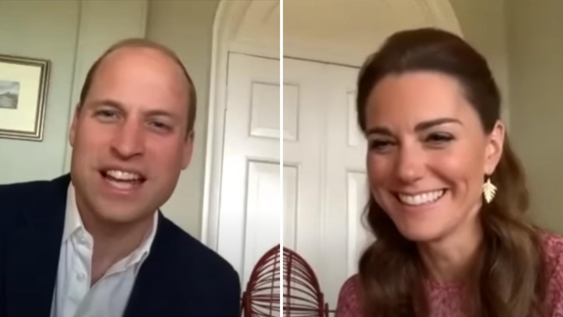 Księżna Kate i książę William zagrali z seniorami w bingo