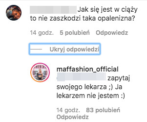Julia Kuczyńska. Fot. Instagram