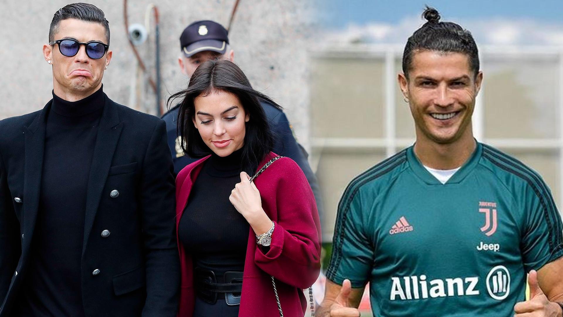 Cristiano Ronaldo w nowej fryzurze. Tak długich włosów jeszcze NIE MIAŁ