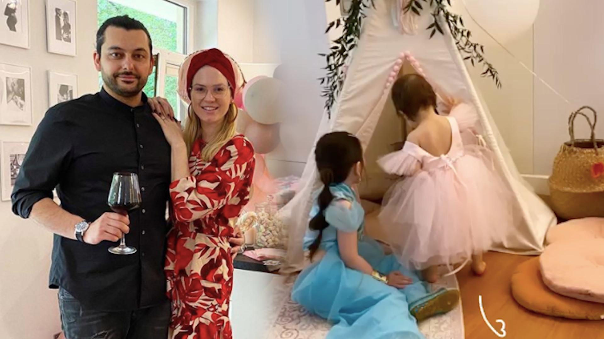 Emil Haidar zorganizował córce ARABSKI roczek!