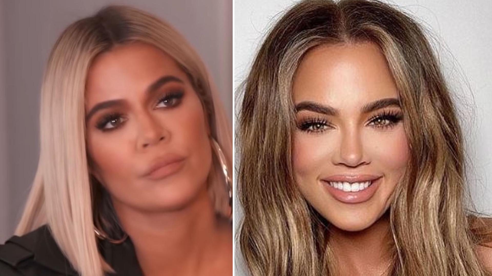 Khloe Kardashian nieudolnie przerabia swoje zdjęcia w Photoshopie