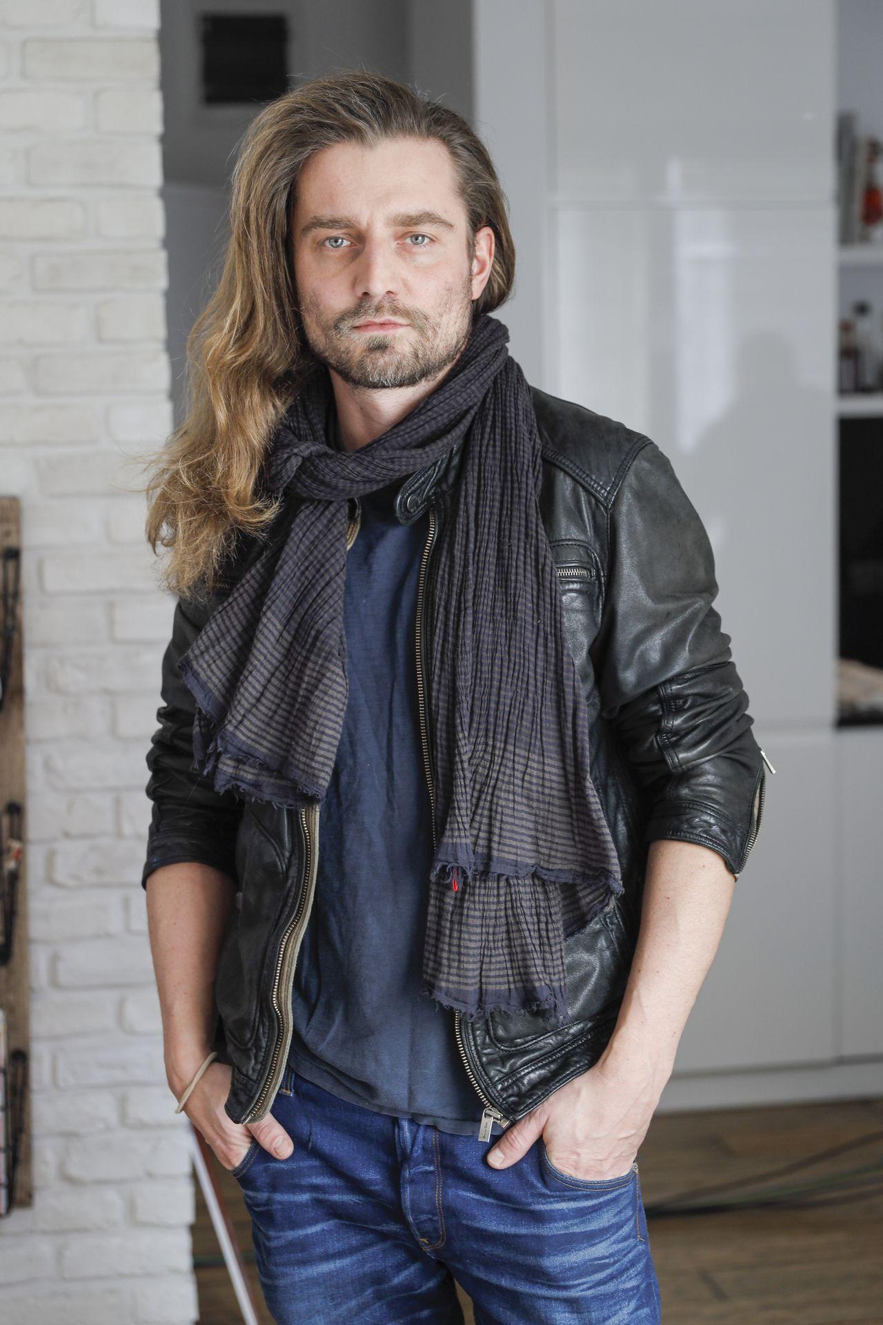 Marcin Rogacewicz na ściance