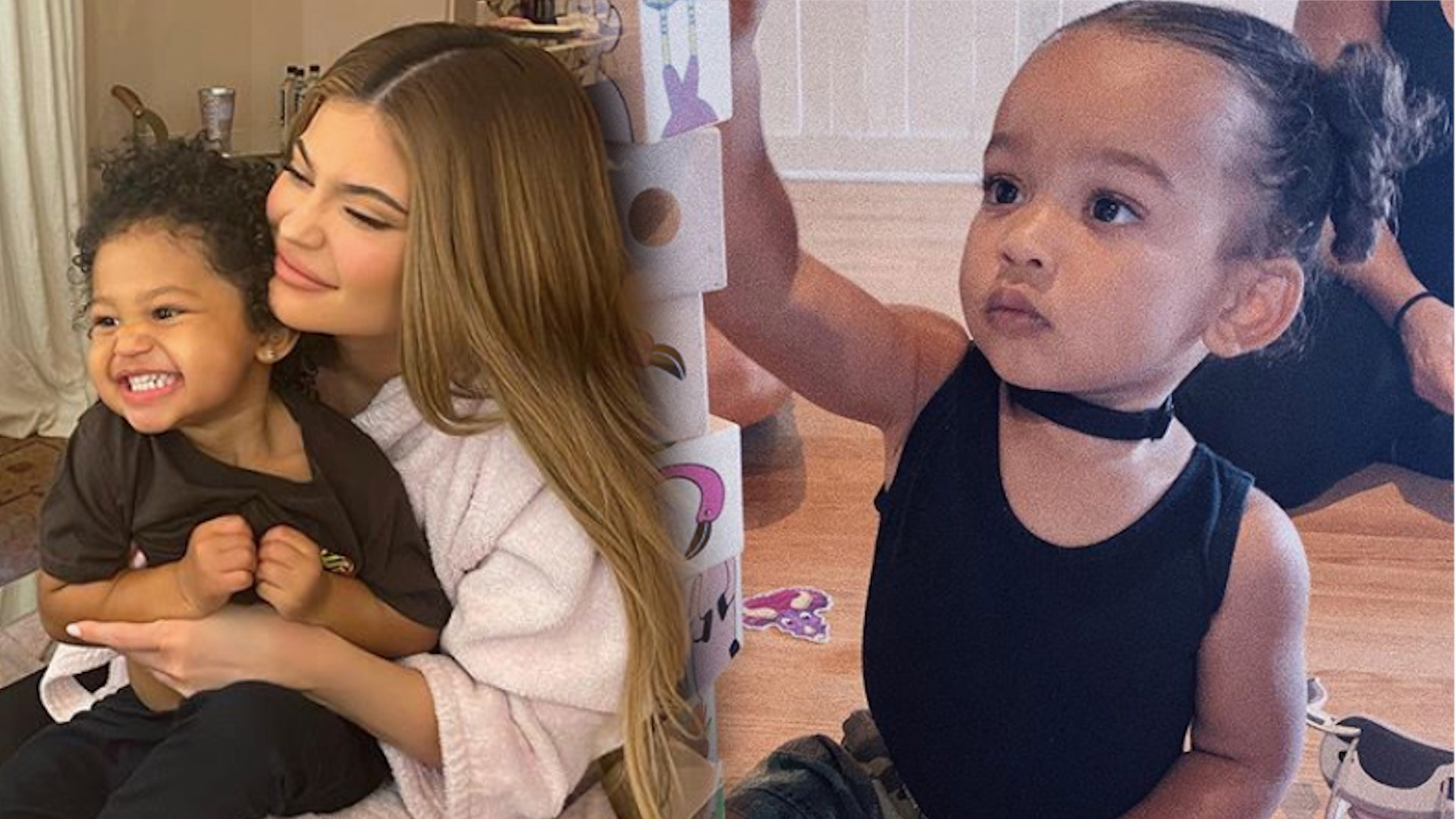 Córki Kim i Kylie to najlepsze PRZYJACIÓŁKI! To wideo rozczula