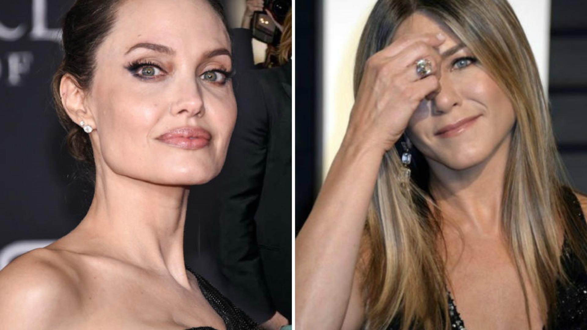 Jolie i Aniston zapytane o ich pierwsze spotkanie. Ich wersje znacznie się RÓŻNIĄ