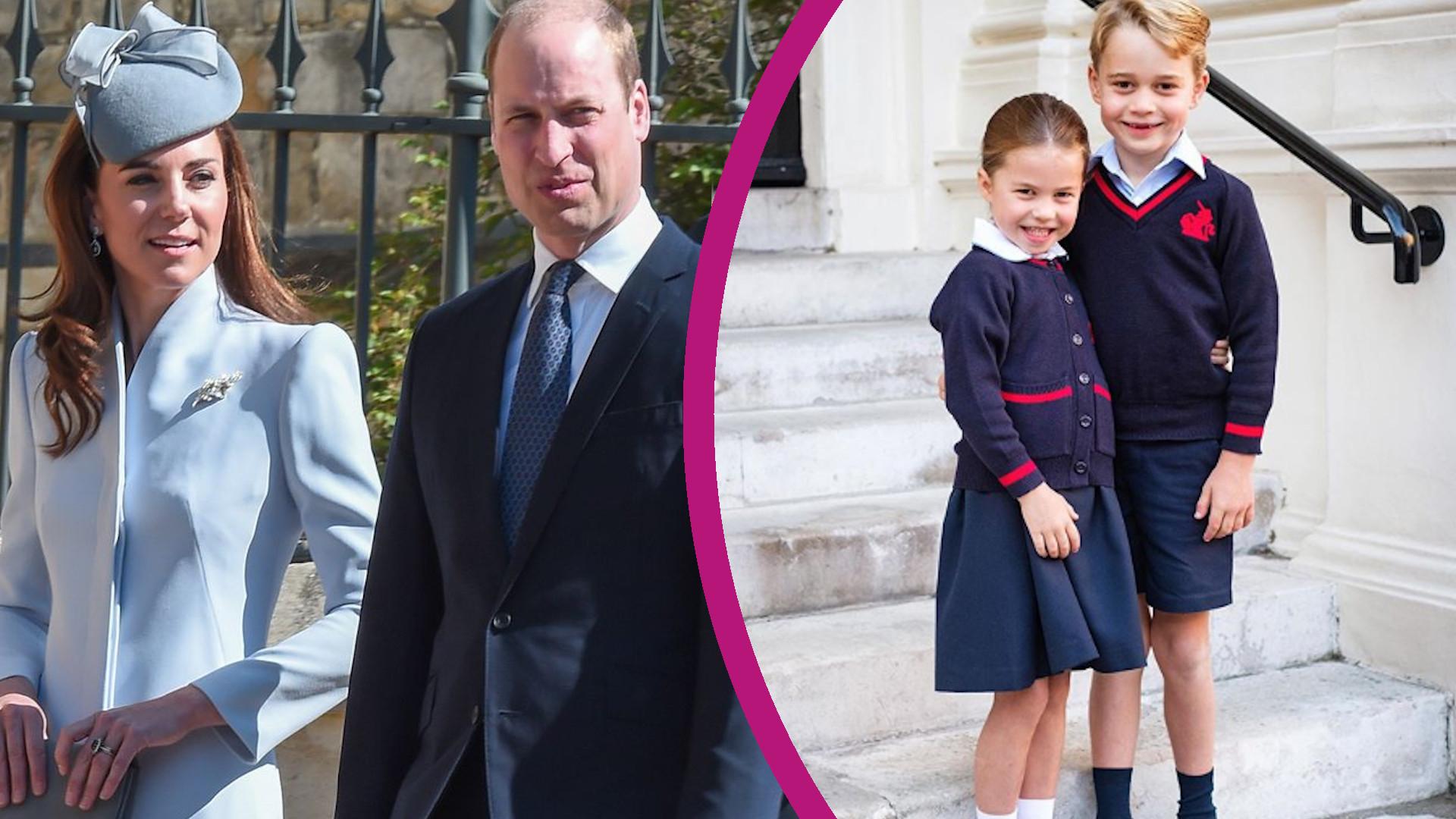 Kate i William NIE CHCĄ, by Charlotte wróciła do szkoły?