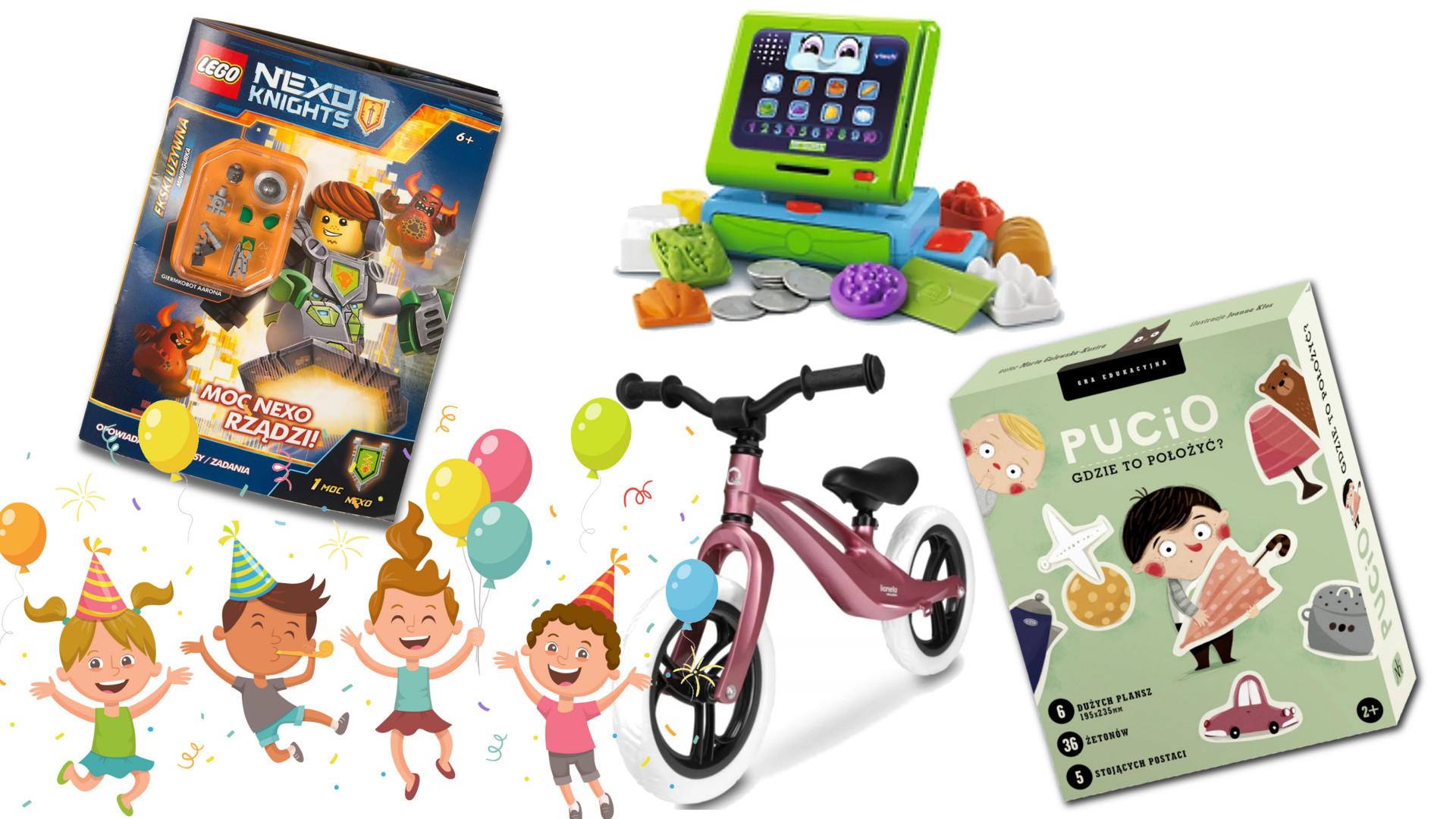 Prezenty na Dzień Dziecka – promocje na zabawki w 5-10-15