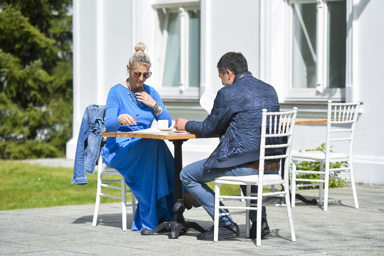 Dominika Tajner na randce