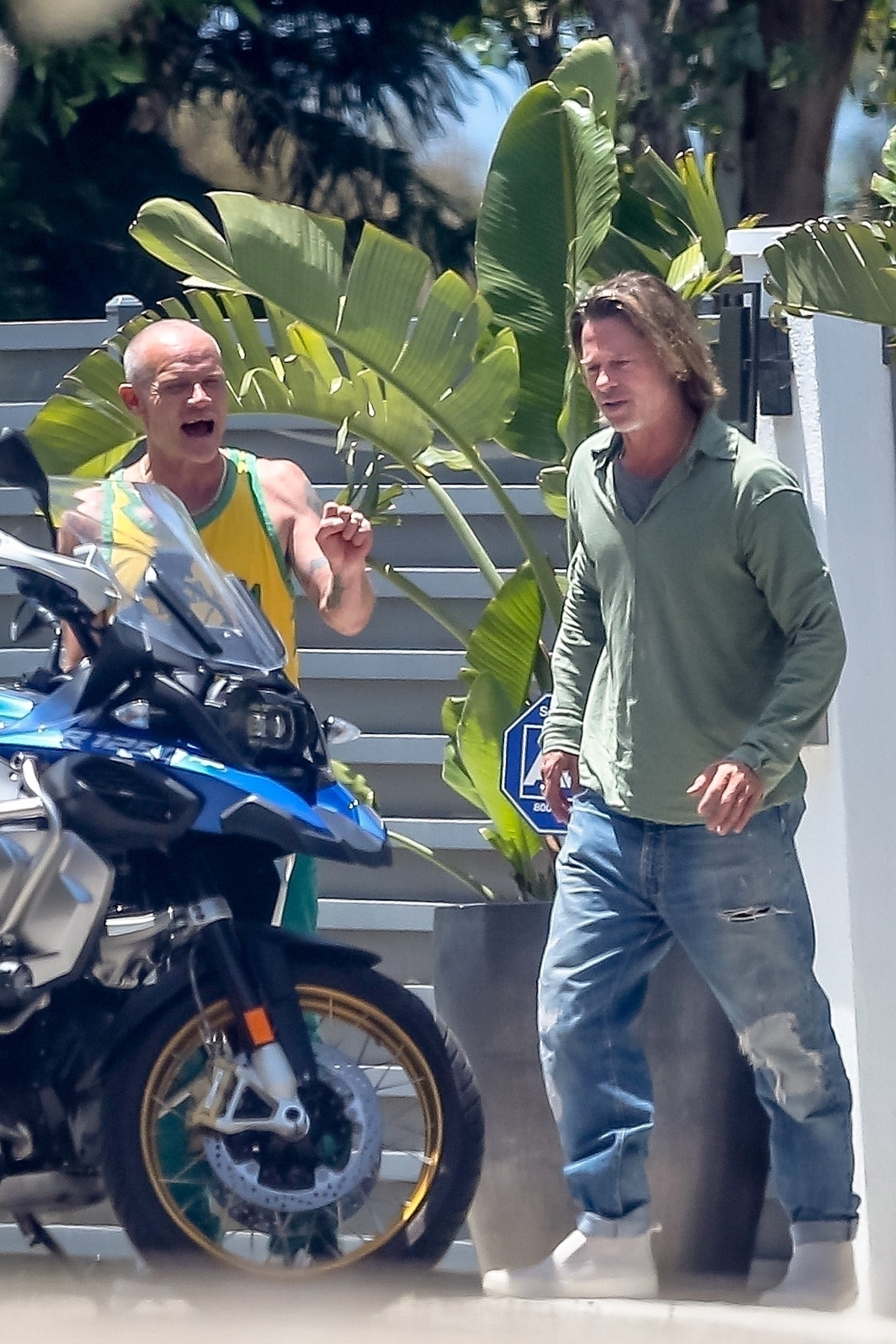 Brad Pitt. Fot. Wagner AZ / RAAK / BACKGRID / Backgrid USA / Forum