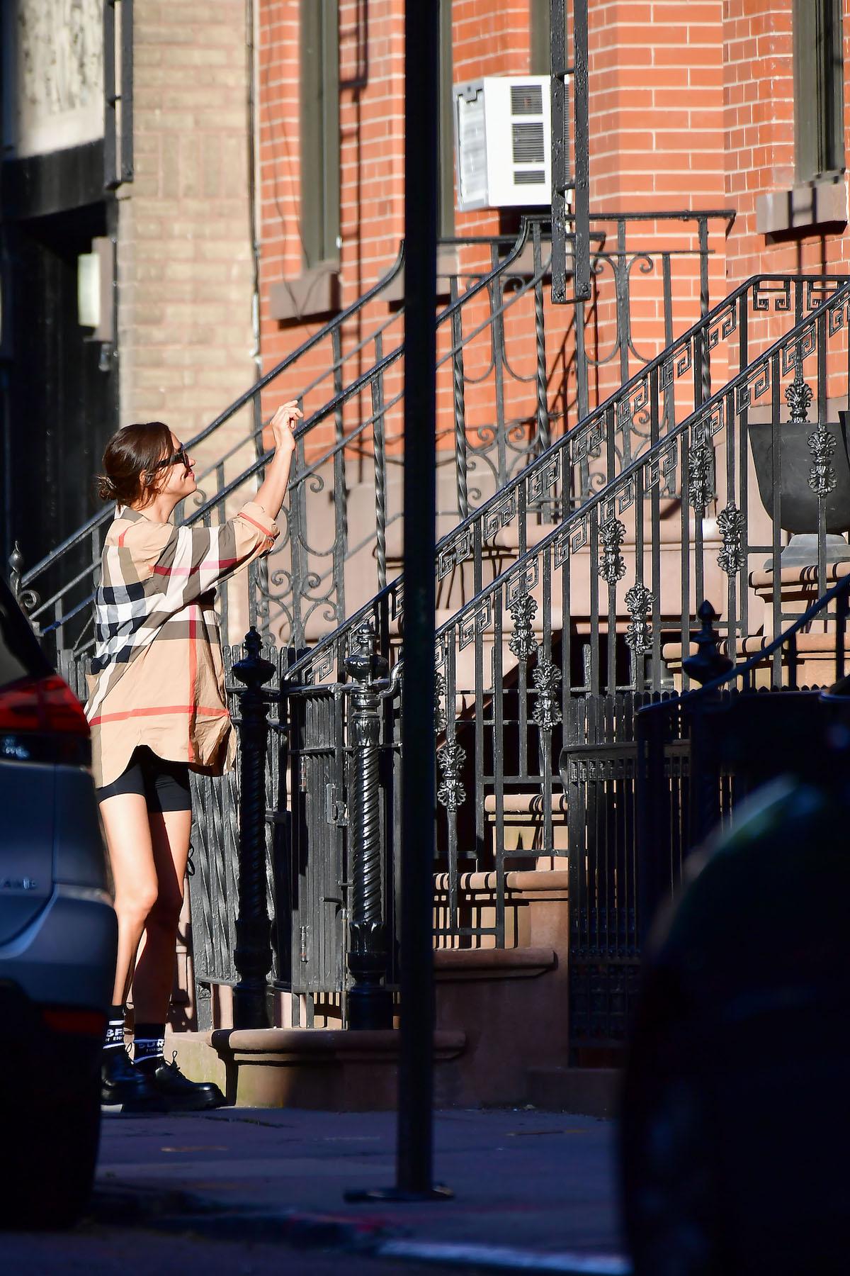Irina Shayk w domu Bradley Coopera. Forum: Javier Mateo / Eaglepress / Forum