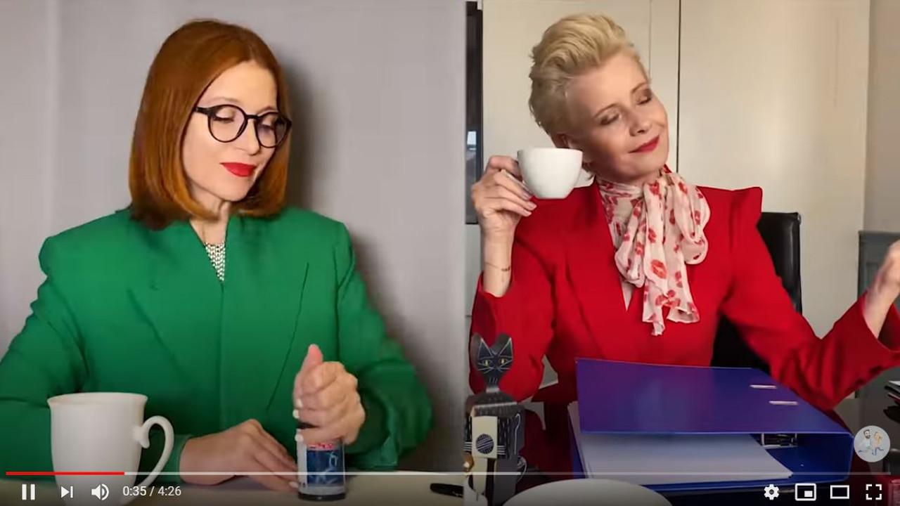 Gwiazdy w filmiku urodzinowym dla Joanny Koroniewskiej.