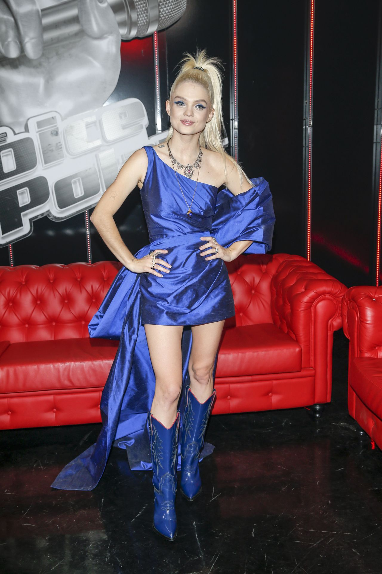 "Margaret na planie ""The Voice of Poland"""