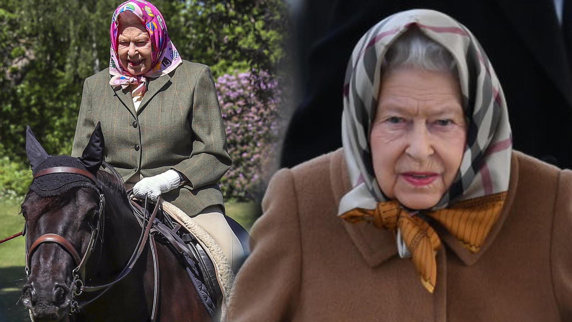 Królowa Elżbieta widziana po raz pierwszy od wybuchu pandemii – ma 94 lata a jeździ na koniu (FOTO)