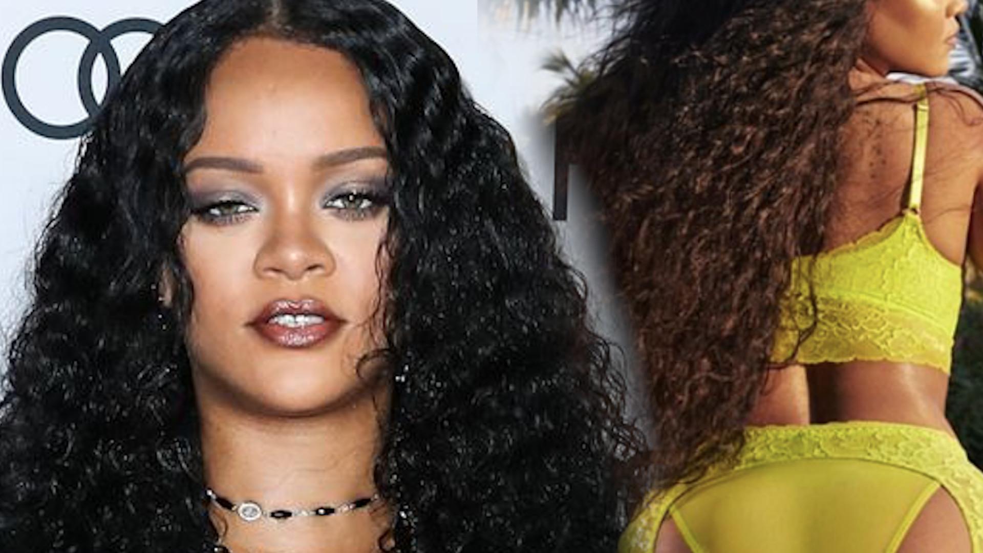 """Rihanna pokazała się w BIELIŹNIE. Internauci oniemieli z zachwytu… """"Co za ciało!"""""""