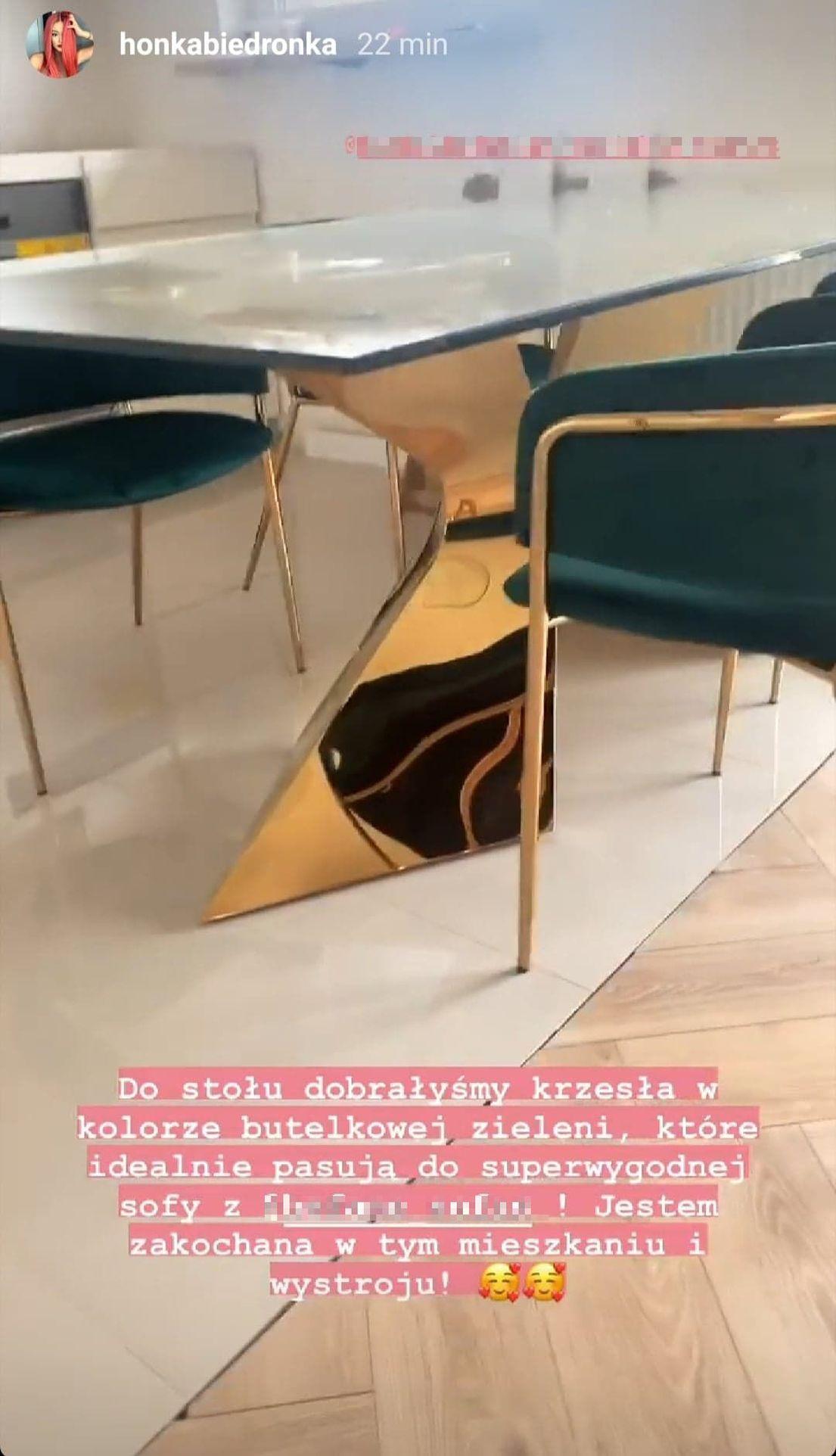 Honorata Skarbek urządza mieszkanie