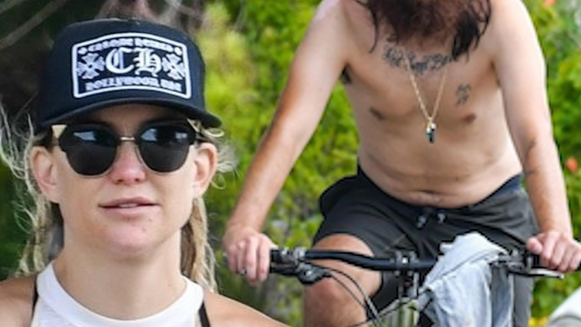 Kate Hudson i jej nowy chłopak przyłapani w MALIBU. Aktorka wróciła do formy!